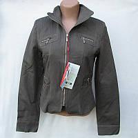 Женская куртка коттоновая осенняя