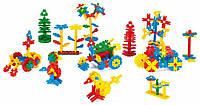 Детский конструктор Листики Wader 200 деталей 41810