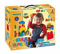 Детский конструктор Wader в коробке 33 детали 41520