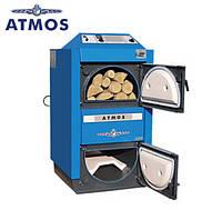 Котел пиролизный Atmos DC 15 E с газификацией древесины