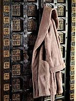 Короткий белый махровый халатик HANIM HAMAM