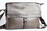 Коричневая деловая сумка Salvatore Ferragamo 8023-4