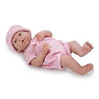 Новорожденный пупс Berenguer в розовом комбинезоне, 38 см