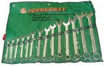 """Набор ключей комбинированных  3/8""""-1-1/4"""", 14 предметов W26414S (Jonnesway, Тайвань)"""