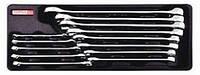 """Набор ключей комбинированных 1/4""""-5/16""""мм 13 ед. (в ложементе) GBAT1303 (Toptul, Тайвань)"""