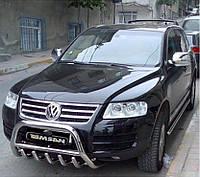 Защита переднего бампера (кенгурятник, бугель, дуга) Volkswagen Touareg