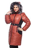 Красивая зимняя женская куртка 46-54р 7 цветов