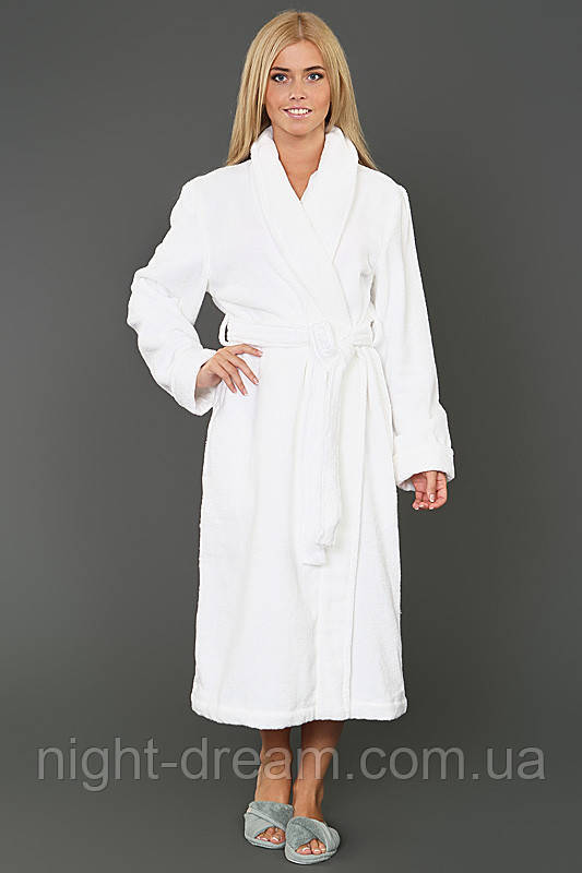 Банный халат PERA HAMAM WHITE размер L
