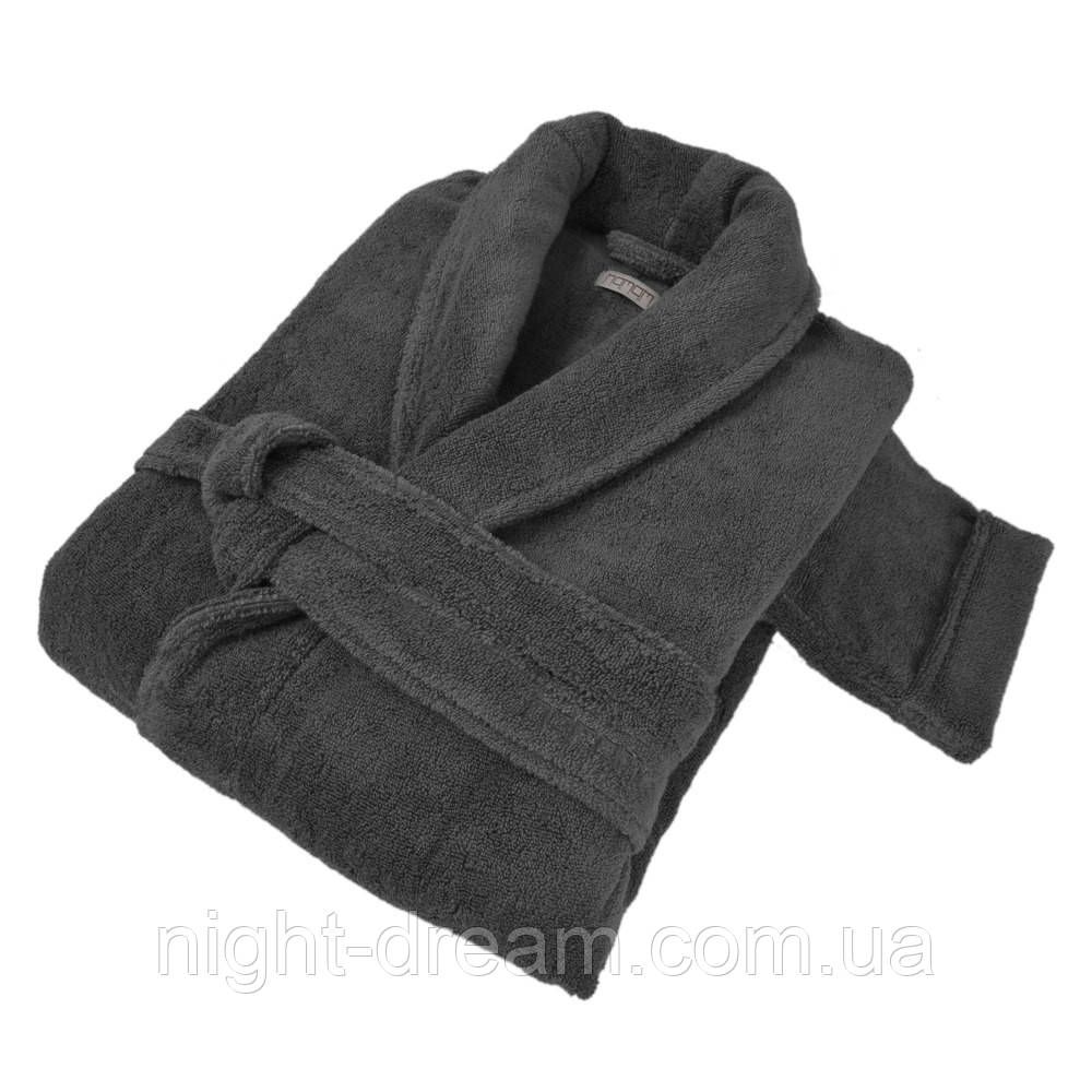 Банный халат PERA HAMAM DARK GREY размер M
