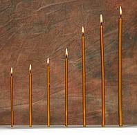 Церковная восковая свеча  №140, 700шт. (вес 2кг.)