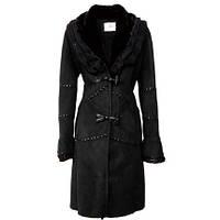 Красивое меховое пальто- искусственная дубленка 9 цветов