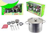 Игровой металлический набор посуды