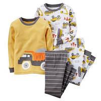 Хлопковая пижама Carter's для  мальчиков