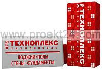 Экструдированный пенополистирол 50мм, Техноплекс