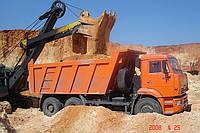 Песок кварцевый, строительный