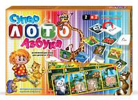 """Развивающая игра """"Супер лото Азбука"""", обучающие пазлы для малышей"""