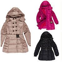 Зимнее пальто куртка для деовчки подростка 122-176см