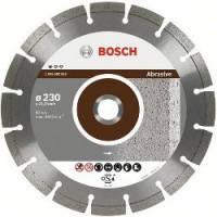 Диск отрезной сегментный Bosch по абразивным материалам Professional 125