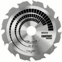 Диск пильный Bosch Construct Wood 160 Z12