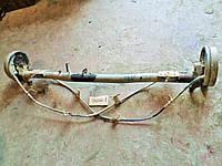 Балка задняя в сборе, без АБС для Фиат Добло / Fiat Doblo 2006, 51757639, 51757637