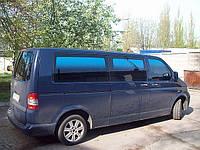Тонировочная автомобильная пленка переходная сине-черная Blue-Gradation ( премиум, металлизированная.)