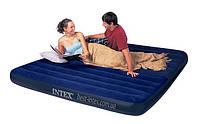 Двуспальный надувной матрас Intex 68755 (183х203х22 см. )