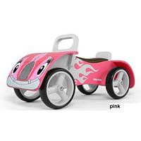 Деревянная машинка-каталка Milly Mally Junior (pink)