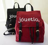Модный тканевый рюкзак Jouetio! Рюкзак для школы. Современные рюкзаки.Код: КСМ240