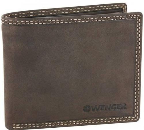 Функциональное портмоне для мужчин, кожаное Wenger 5-09DB коричневый