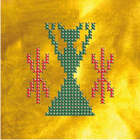 Схема на ткани для вышивки бисером Жива.Оберег для девушек КМР 6109