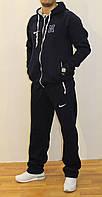 Мужской утепленный спортивный костюм Nike (Батал)56-62р