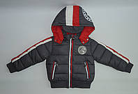 Куртка теплая  на мальчика ( 2-6 ) лет