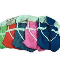 Конверт на овчине для санок Piccolino Adbor (разные цвета)