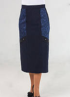 Модная классическая женская юбка батал, фото 1