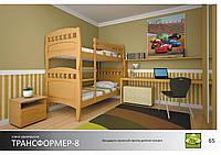 Кровать Трансформер-8 Массив ДУБ
