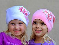 Осенняя шапка для девочки Ромашки (от 3 лет)