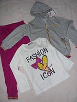 Детские костюмы для девочек тройка. Fashion