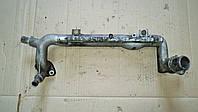 Трубка система охлаждения мотора Фиат Добло / Fiat Doblo 1.9 2006, 55186977, 55213890