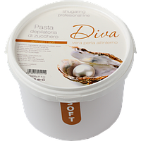 Сахарная паста для депиляции Diva мягкая 400 гр