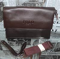 Клатч-сумка мужская POLO  кожа, Италия