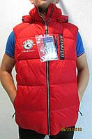 Мужская жилетка Azimuth 8086-190 красная код 447б