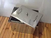 Коптильня с водяным затвором нержавейка 1,5mm