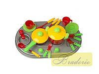 Детская плита с мойкой и посудой Kinder way 04-409
