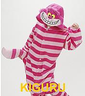 Кигуруми пижама Чеширский кот из Алиса в стране чудес