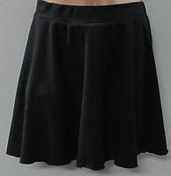 Юбка для хореографии (черная) х/б