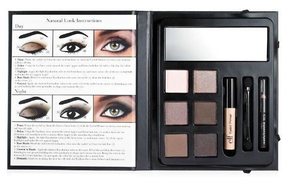 Eye makeup book
