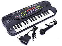 Детский синтезатор с микрофоном HS 3210A