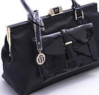 Классическая лакированная сумка Velina Fabbiano