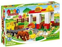 Конструктор зоопарк  JDLT 5206 аналог Lego Duplo