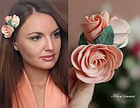 """""""Викторианские розы"""" заколка для волос с розами"""